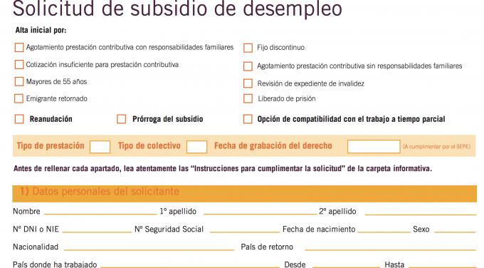 Ayuda familiar para desempleados for Sellar paro por internet andalucia certificado digital