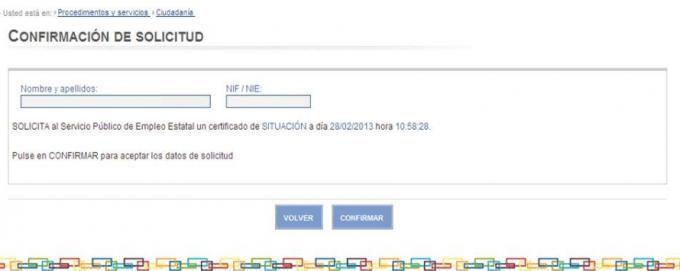 certificado inem