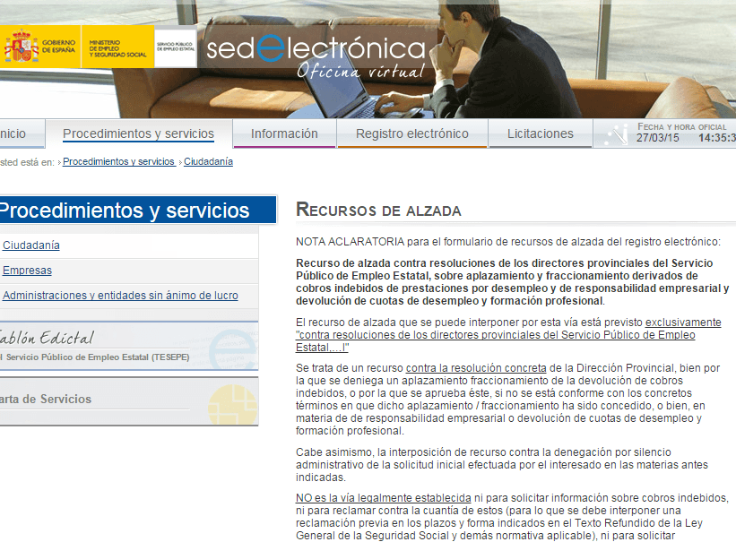 La devolución de prestaciones indebidas | Cursosinemweb.es