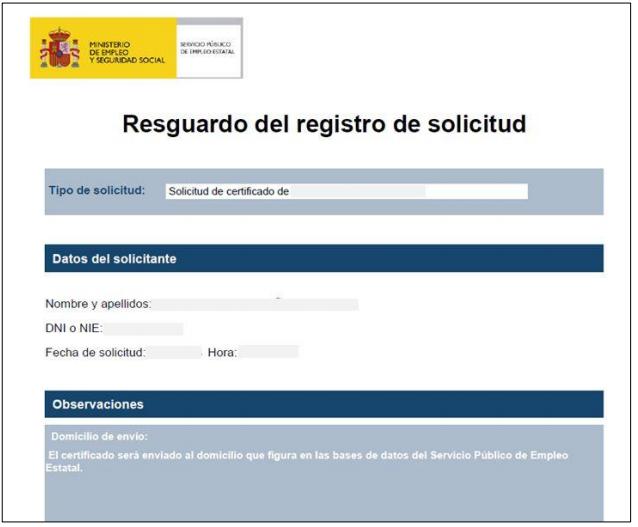 Cómo solicitar un Certificado del INEM (SEPE) | Cursosinemweb.es