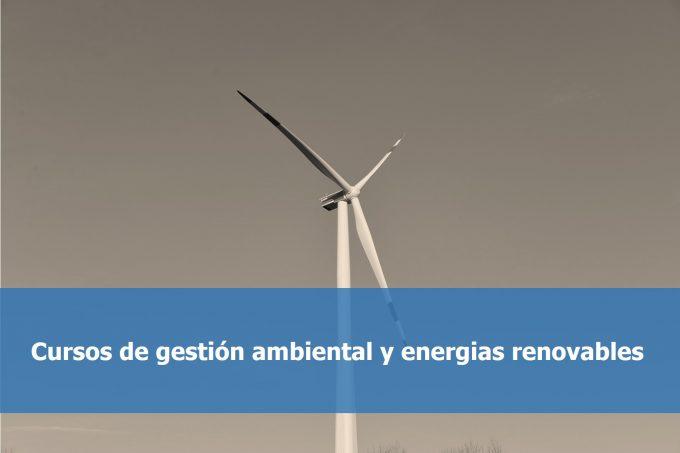 Cursos gestión ambiental
