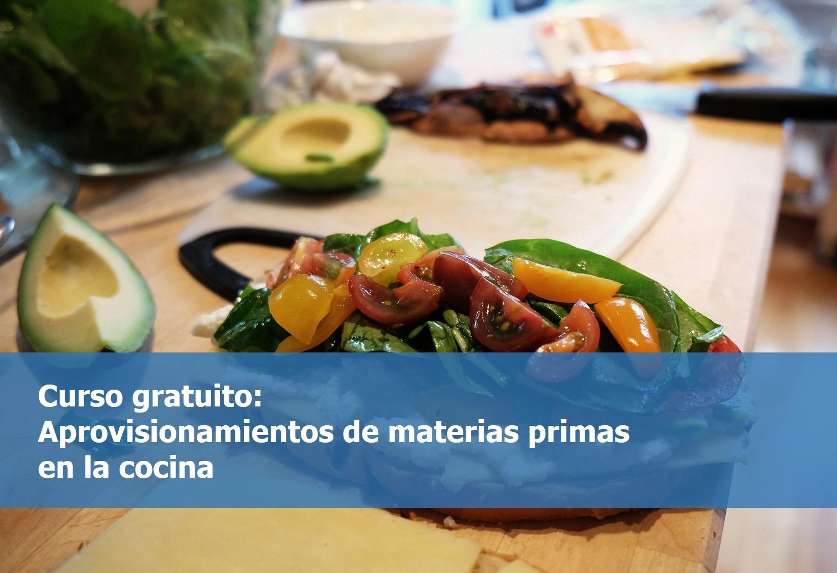 Nuevos cursos gratuitos de jefe de cocina recepci n - Aprovisionamiento de materias primas en cocina ...