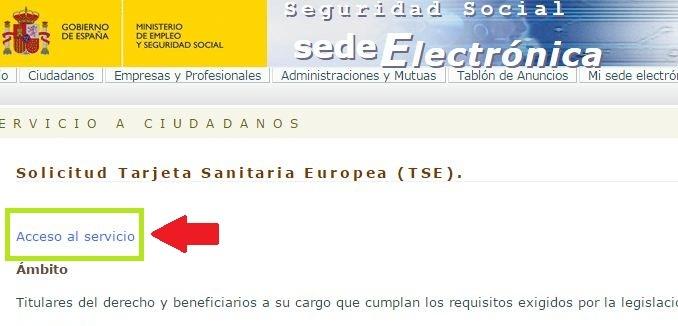solicitud TSE