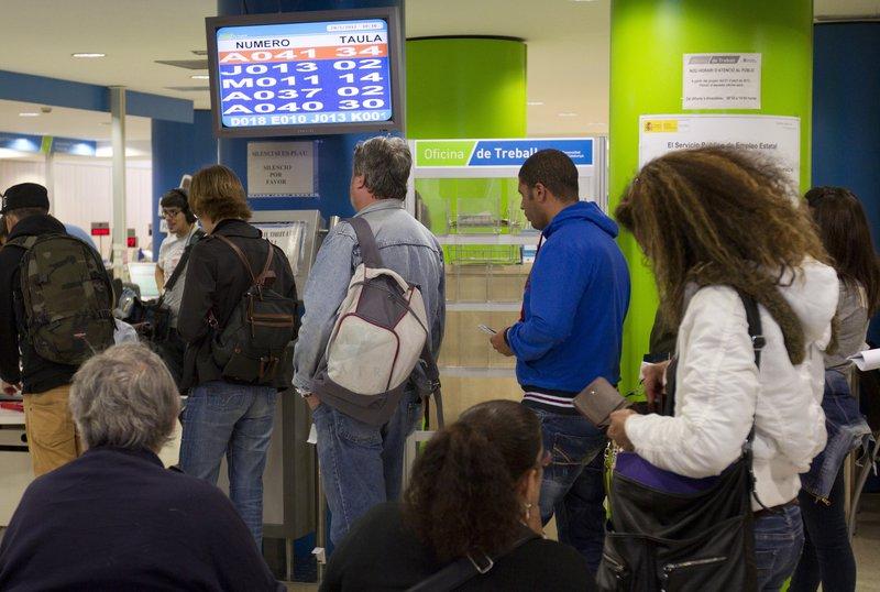 La tasa de desempleo sube en Cataluña en el mes de enero