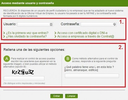 C mo sellar el paro en andaluc a for Sellar paro oficina virtual