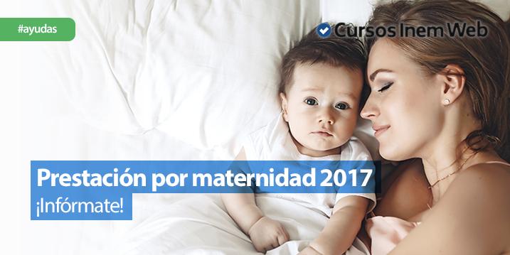 prestación por maternidad