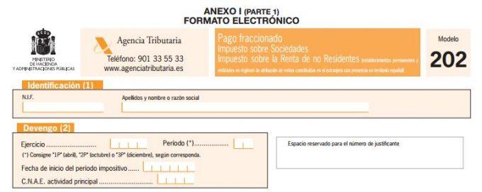 modelo 202 pdf