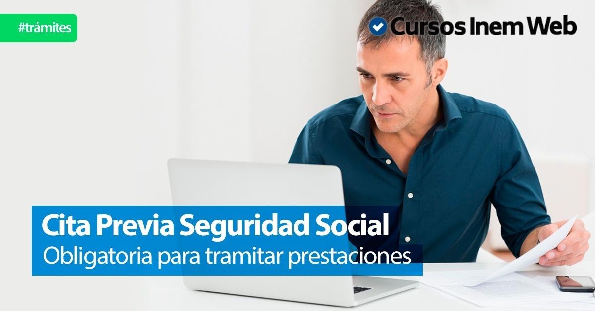 C mo solicitar cita previa seguridad social para for Oficinas seguridad social barcelona horarios