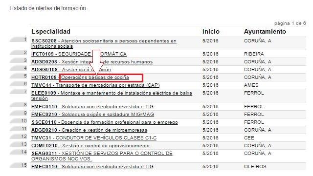 cursos xunta galicia