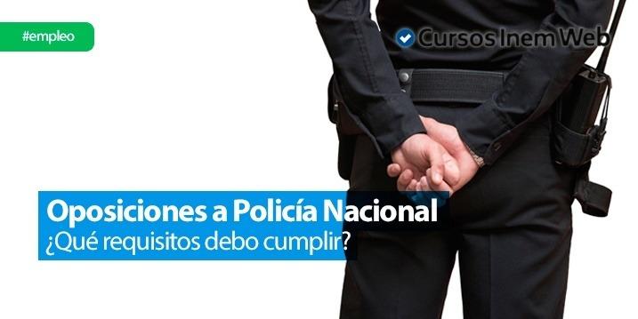 oposiciones policia nacional