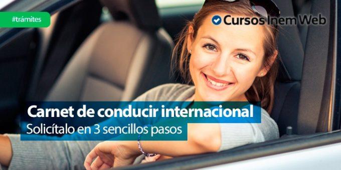 solicitar carnet de conducir internacional