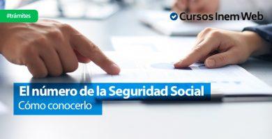 numero afiliado de la Seguridad Social