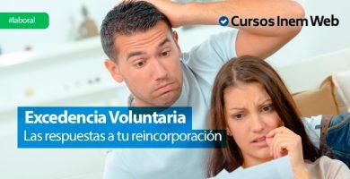 reincorporacion excedencia voluntaria