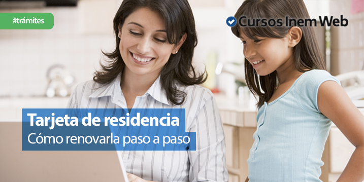 renovar tarjeta residencia españa