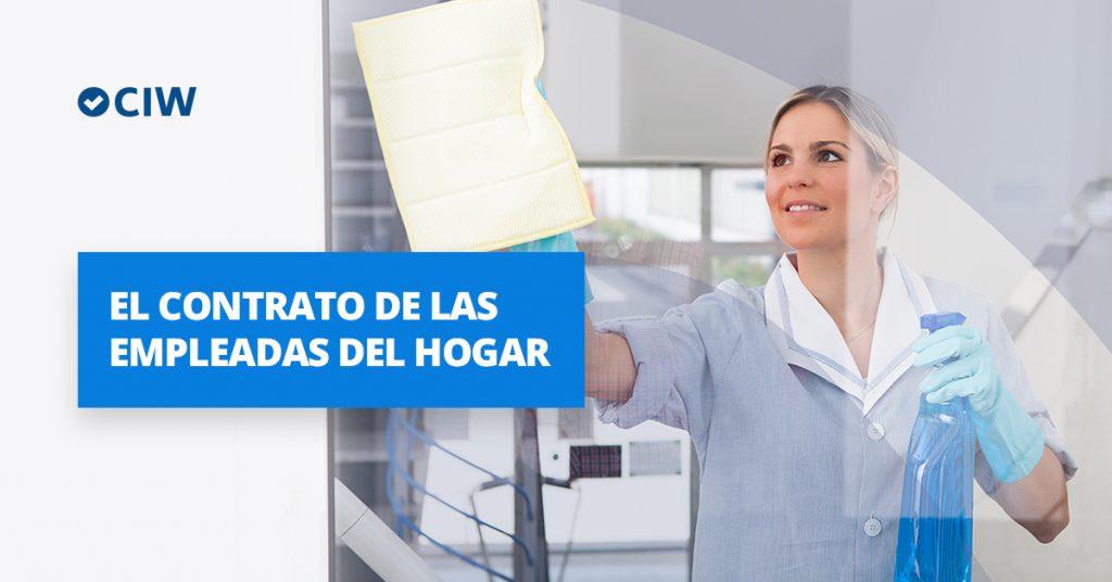C mo contratar y dar de alta a una empleada del hogar for Contrato de duracion determinada empleada de hogar