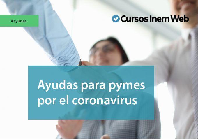 Ayudas para pymes por el coronavirus