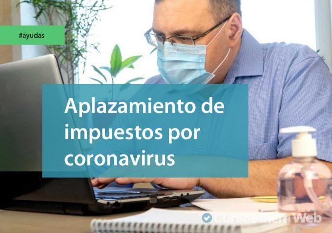 aplazamiento impuestos coronavirus