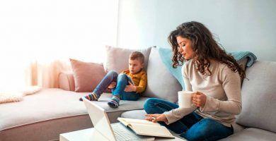 Ayudas para que los padres cuiden a sus hijos durante el coronavirus