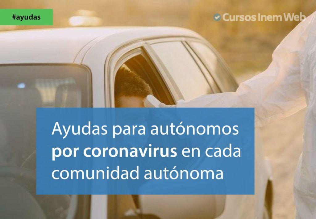 ayudas autonomos coronavirus comunidades autonomas
