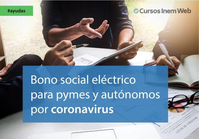 bono social pymes autonomos coronavirus
