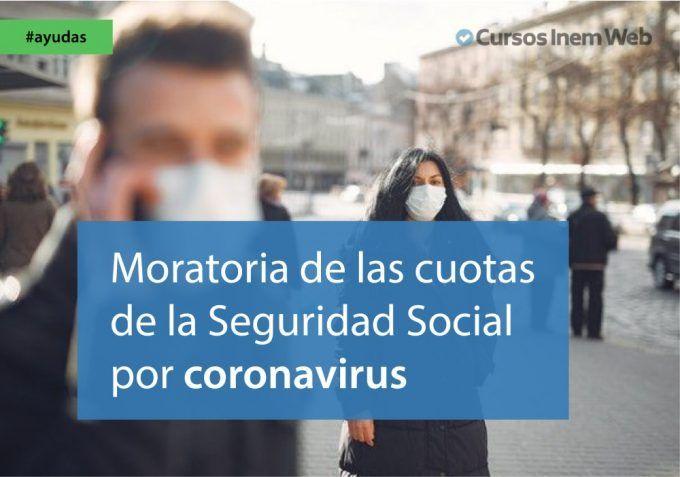 moratoria cuotas seguridad social coronavirus