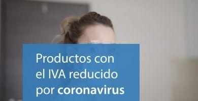 productos iva reducido coronavirus