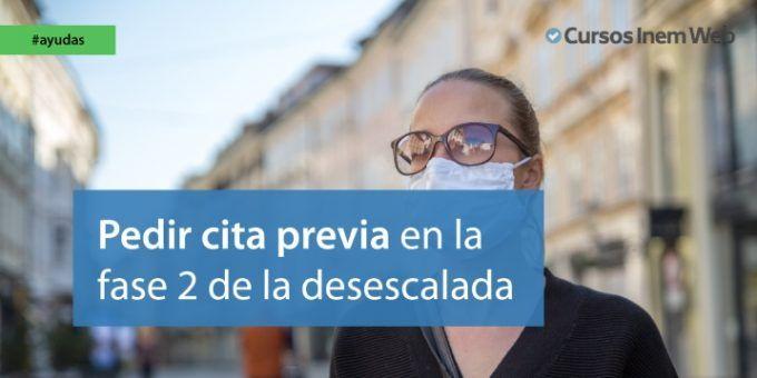 desescalada coronavirus cita previa tramites