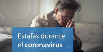 estafas coronavirus