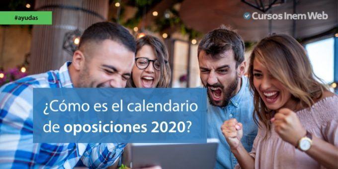 calendario oposiciones 2020