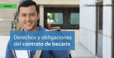 derechos y obligaciones del contrato de becario
