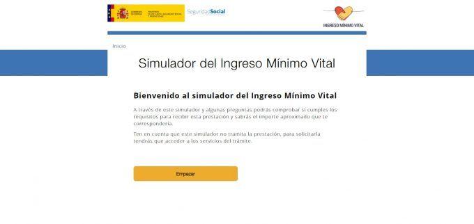 Simulador para calcular el Ingreso Mínimo Vital