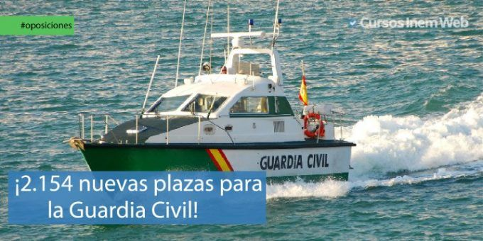 Convocatoria de oposiciones para la Guardia Civil