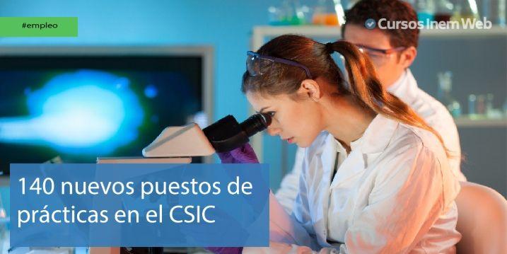 Convocatoria prácticas CSIC