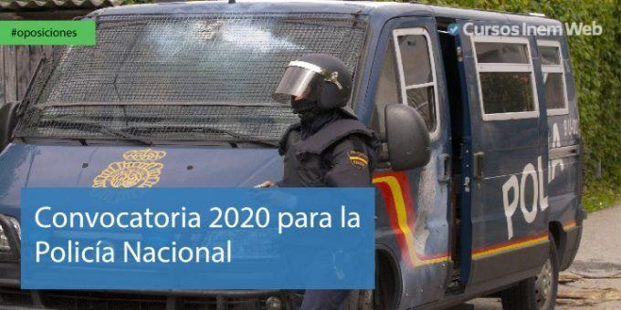 Oposiciones para la Policía Nacional