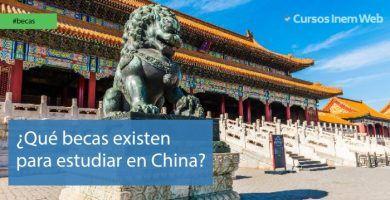 Becas para estudiar en China