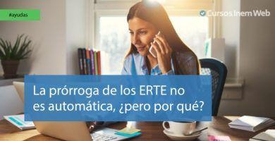 Prórroga automática de los ERTE