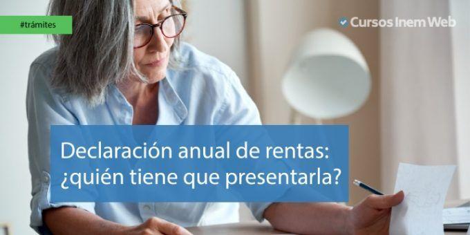 Declaración anual de rentas